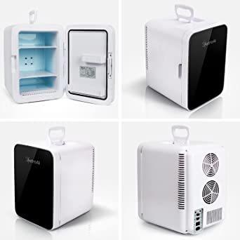 ブラック AstroAI 冷蔵庫 小型 ミニ冷蔵庫 小型冷蔵庫 冷温庫 0 ℃~60℃ 10L 化粧品 小型でポータブル 家庭 _画像7
