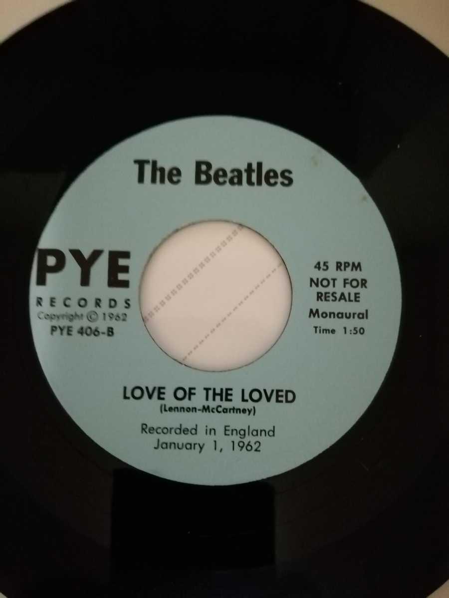 The beatles/ MEMPHIS/LOVE OF THE LOVED コレクターズ・シングル・レコード ビートルズ