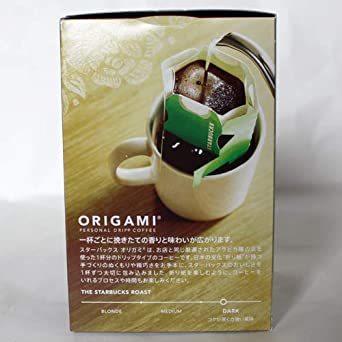 スターバックス オリガミドリップコーヒー カフェベロナ 6個_画像4