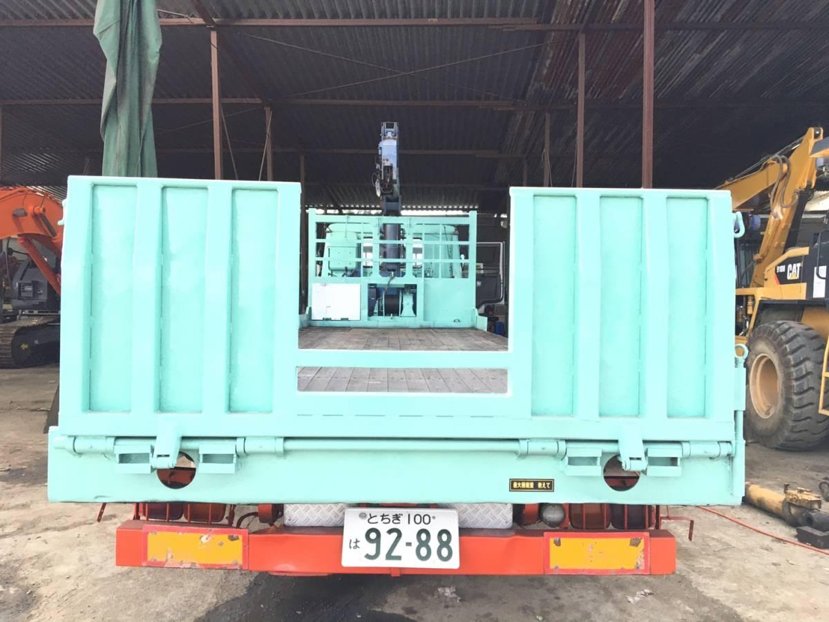 「★スライドローダー4段クレーン回送車/三菱/H5年(車検有)★」の画像2