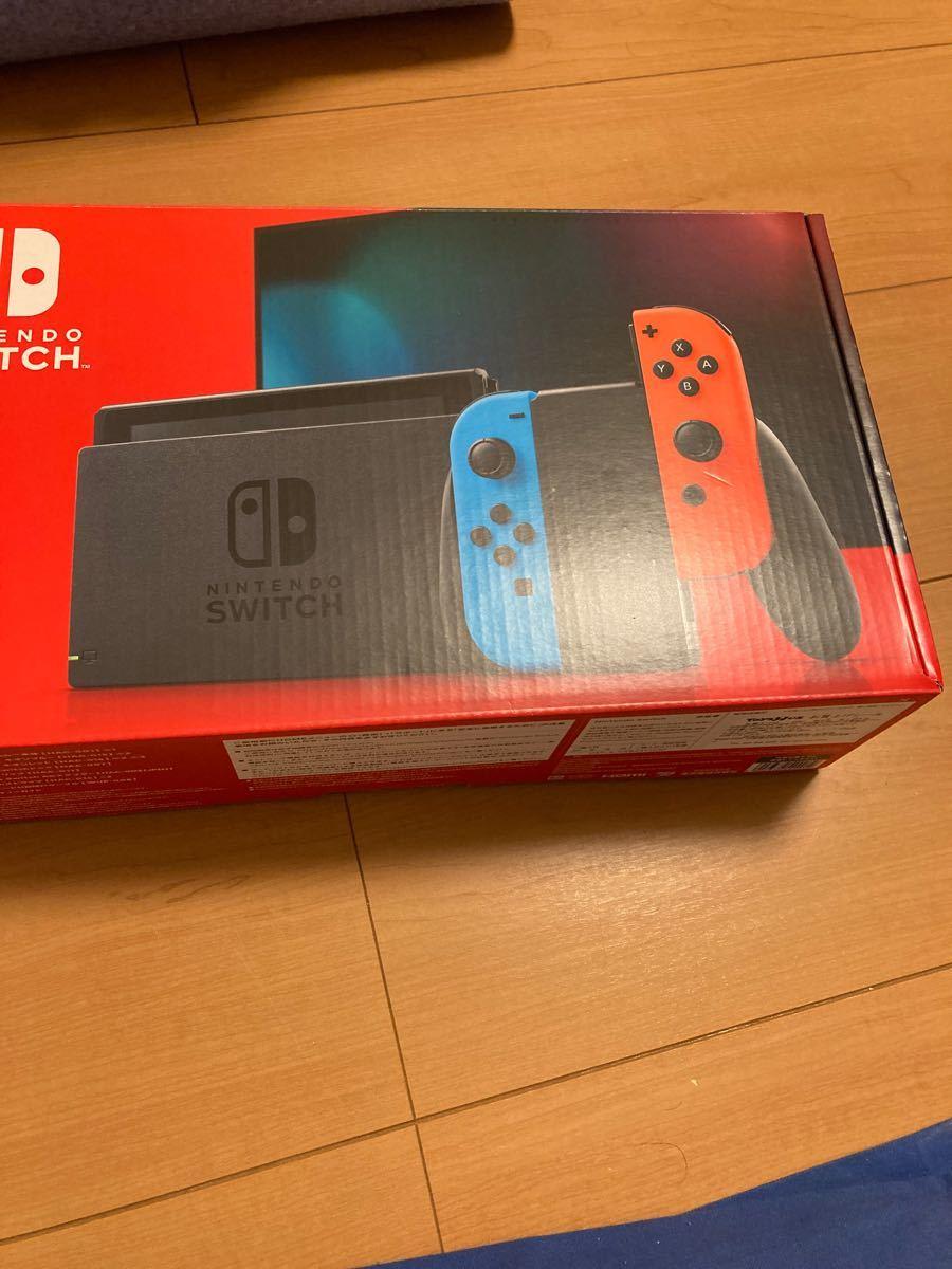 Nintendo Switch JOY-CON(L) ネオンブルー/(R) ネオンレッド 本体 新品未開封