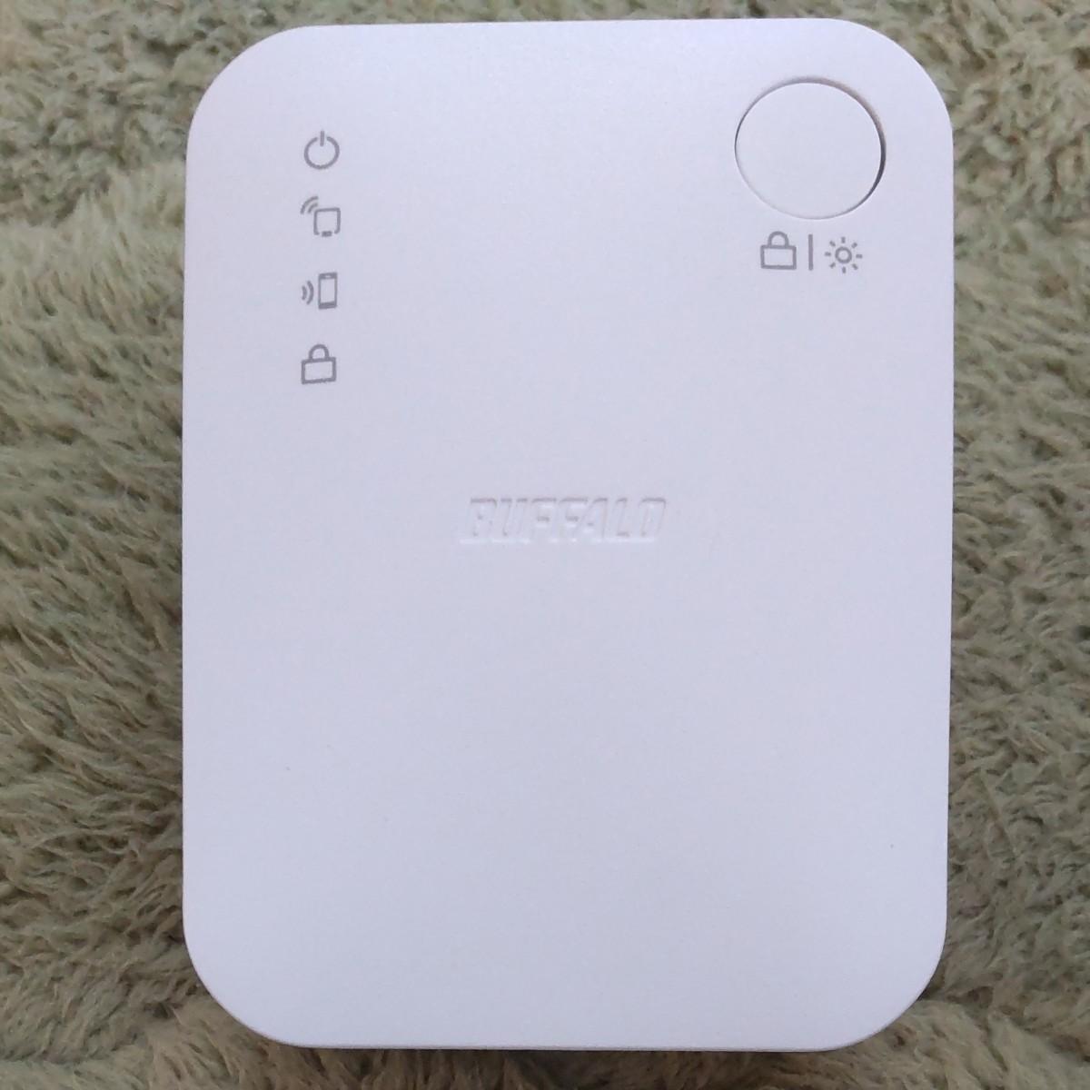 バッファロー Wi-Fi中継機 無線LAN中継機 BUFFALO WEX-733DHP/N