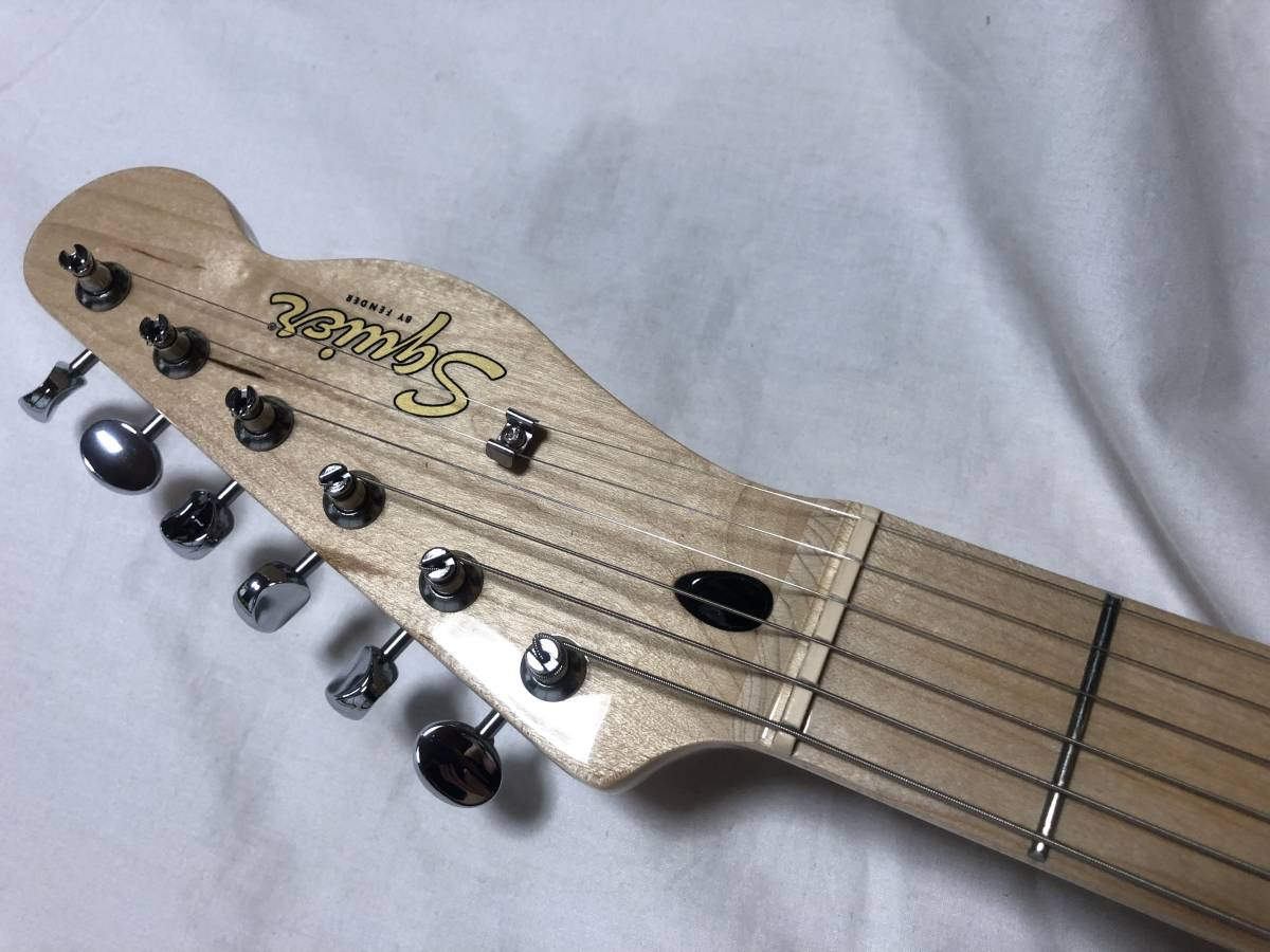 Squier by Fender Vintage Modified Telecaster Thinlineスクワイヤーbyフェンダー テレキャスシンライン_画像5