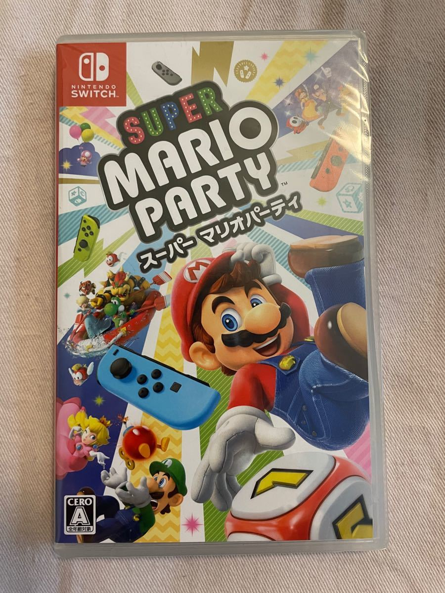 【新品未開封】スーパーマリオパーティ Nintendo Switch