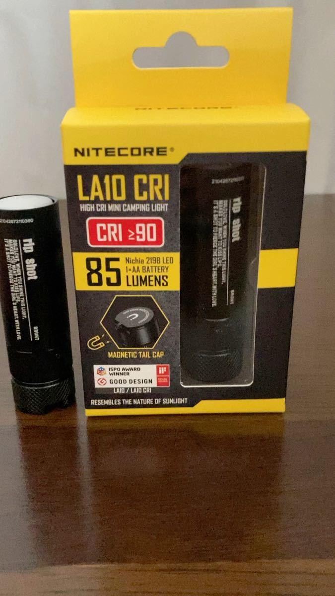 【限定予約販売品】bush de brunt ripshot 新品未開封 リップスティック型 LEDランタン nitecore