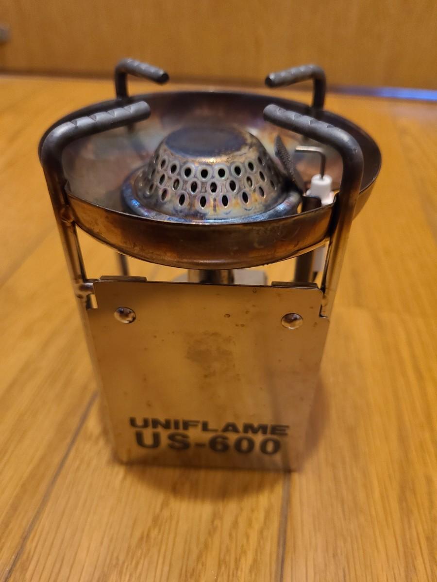 UNIFLAME ミニバーナーUS600  ユニフレーム