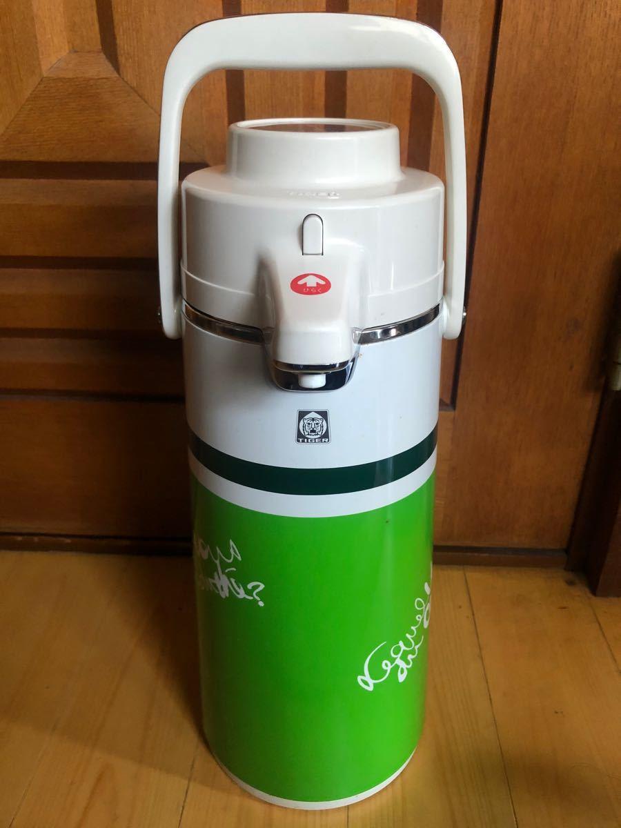 ステンレスボトル 水筒 TIGER エアーポット 昭和レトロ
