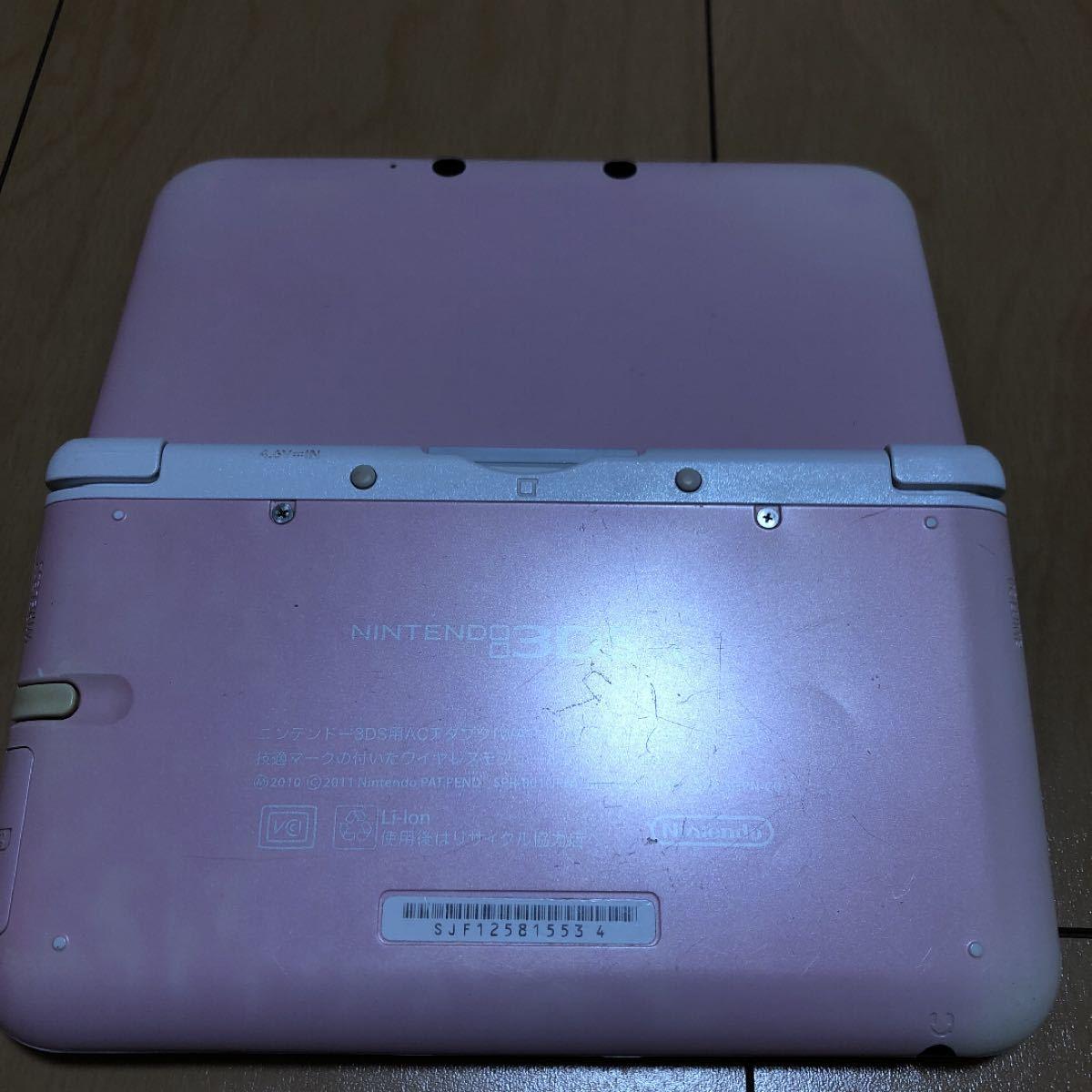 格安販売員様専用 ニンテンドー3DS LL本体+ソフト3本セット 追記あり