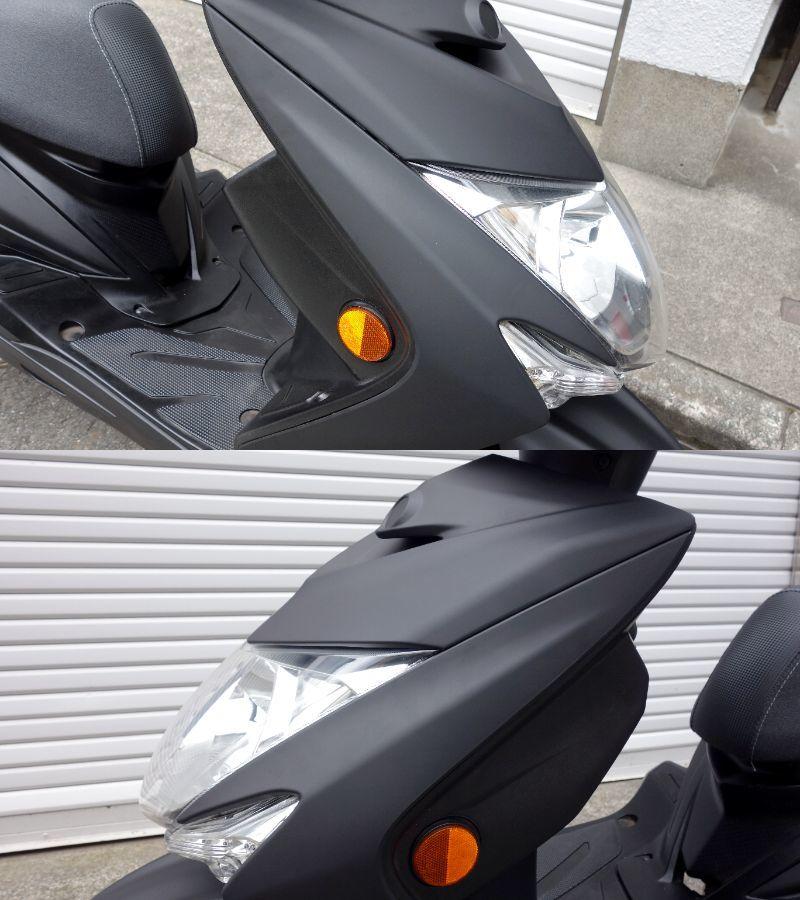 「国内仕様 ☆外装・Fブレーキパッド新品 ヤマハ シグナス XSR LEDヘッドライト」の画像3