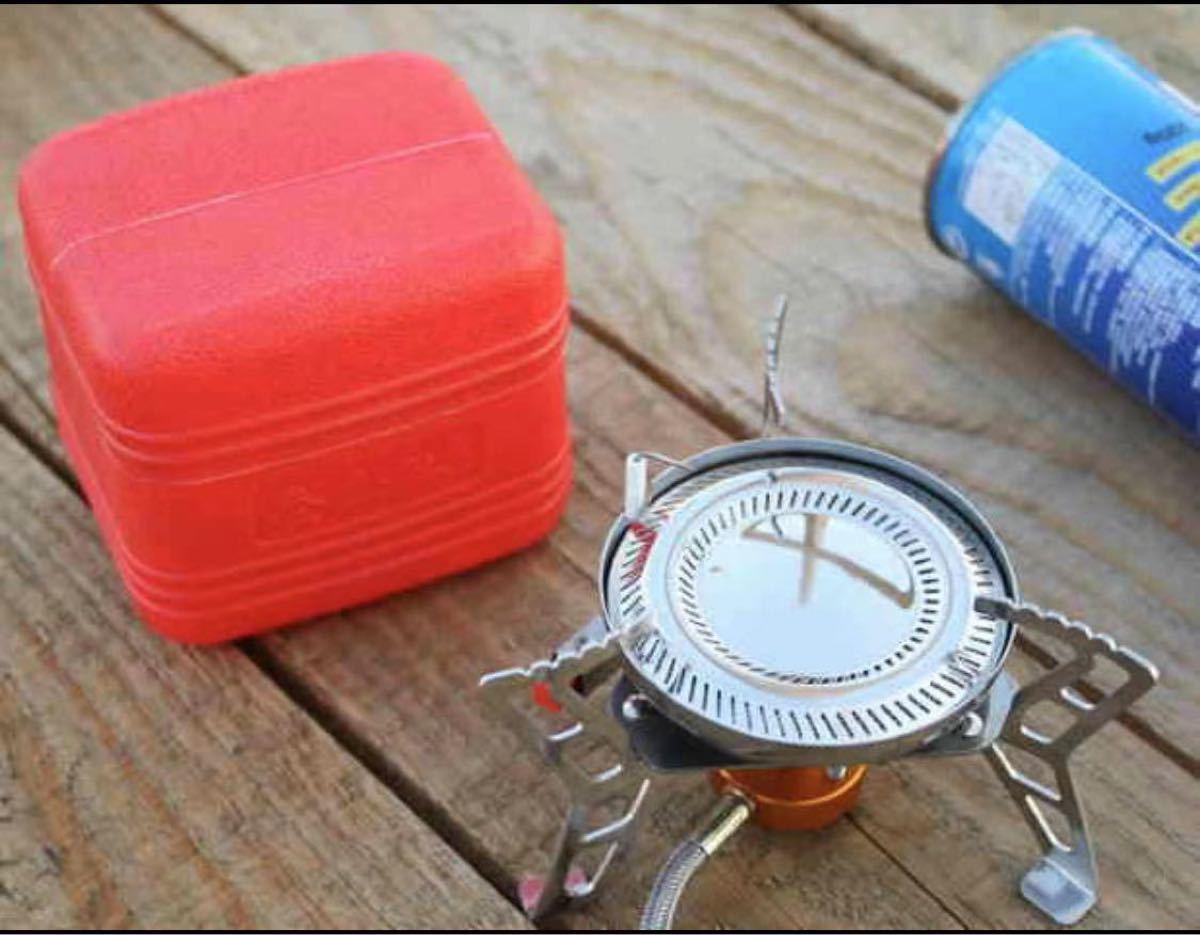 シングルバーナー OD缶 小型 小型 ガスバーナー アウトドア キャンプ