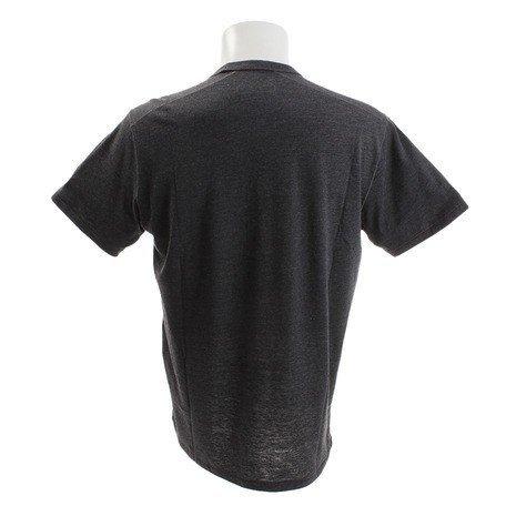 送料無料 新品 アンダーアーマー 半袖 Tシャツ M グレー インナー アンダー シャツ UNDER ARMOUR 1330358 ヒートギア ルーズ MD 即決