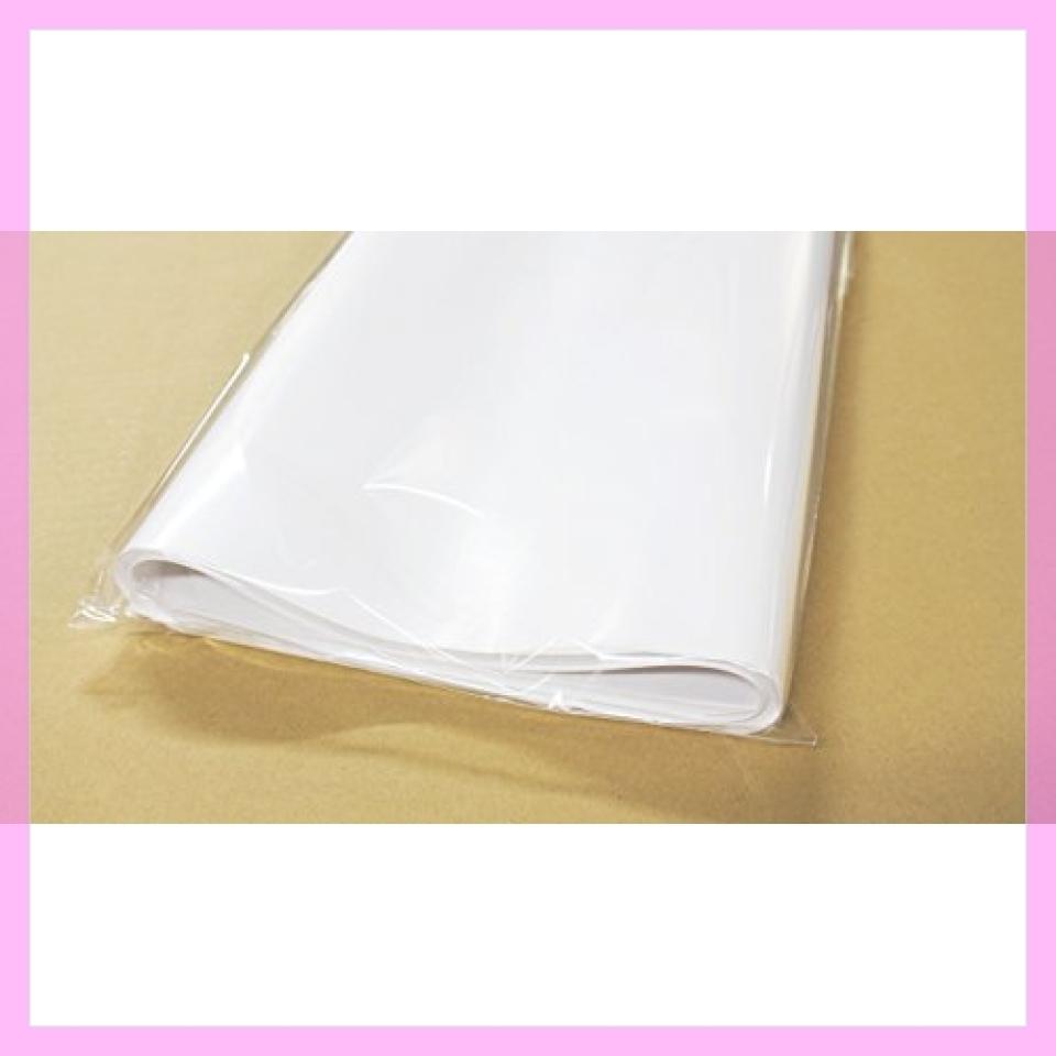 新品!♪フジパック 純白紙 片面ツヤ加工 包装紙 100枚L27C_画像2