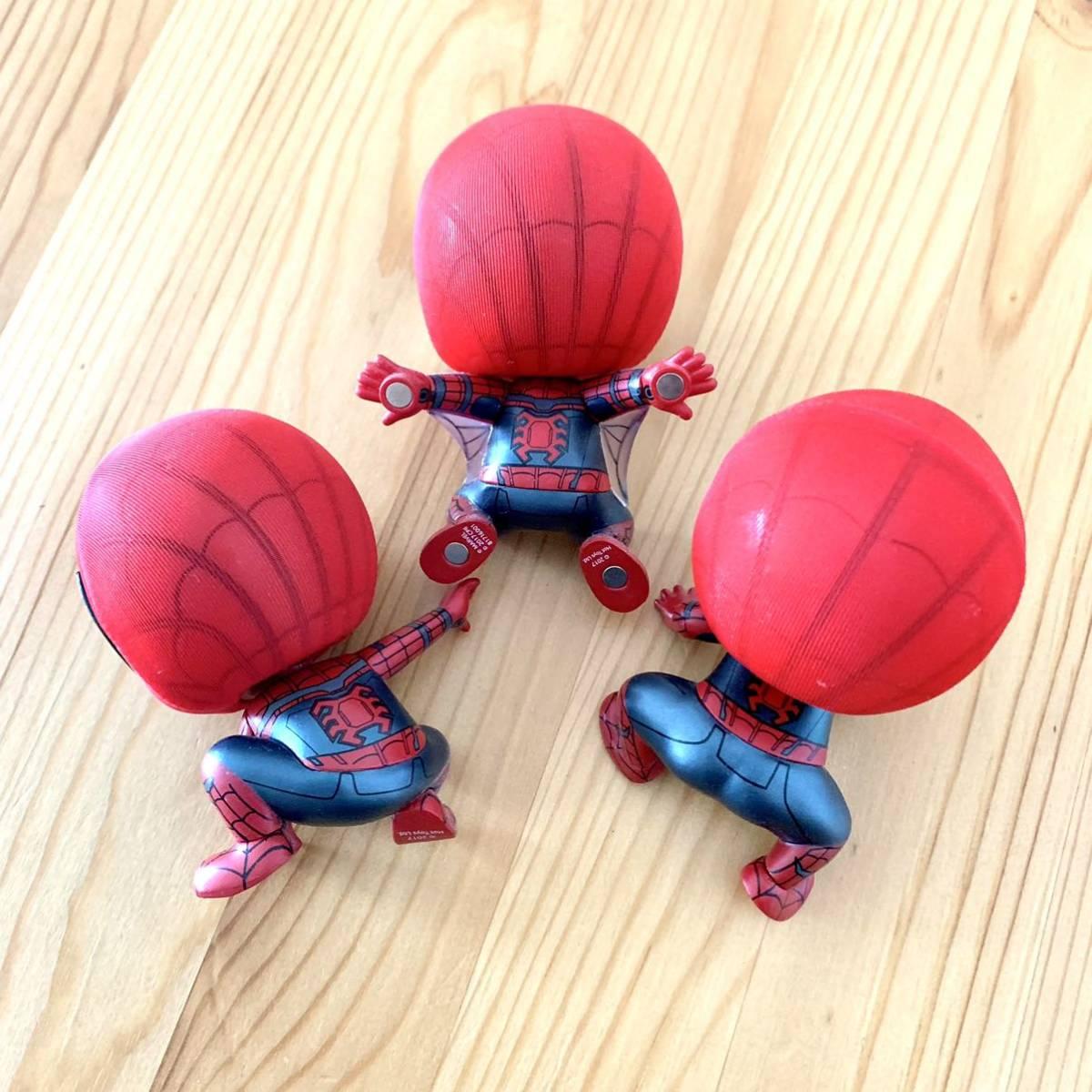 スパイダーマン ワンピース でんでん虫 ルパン三世 峰不二子 タコ フィギュア おもちゃ_画像3