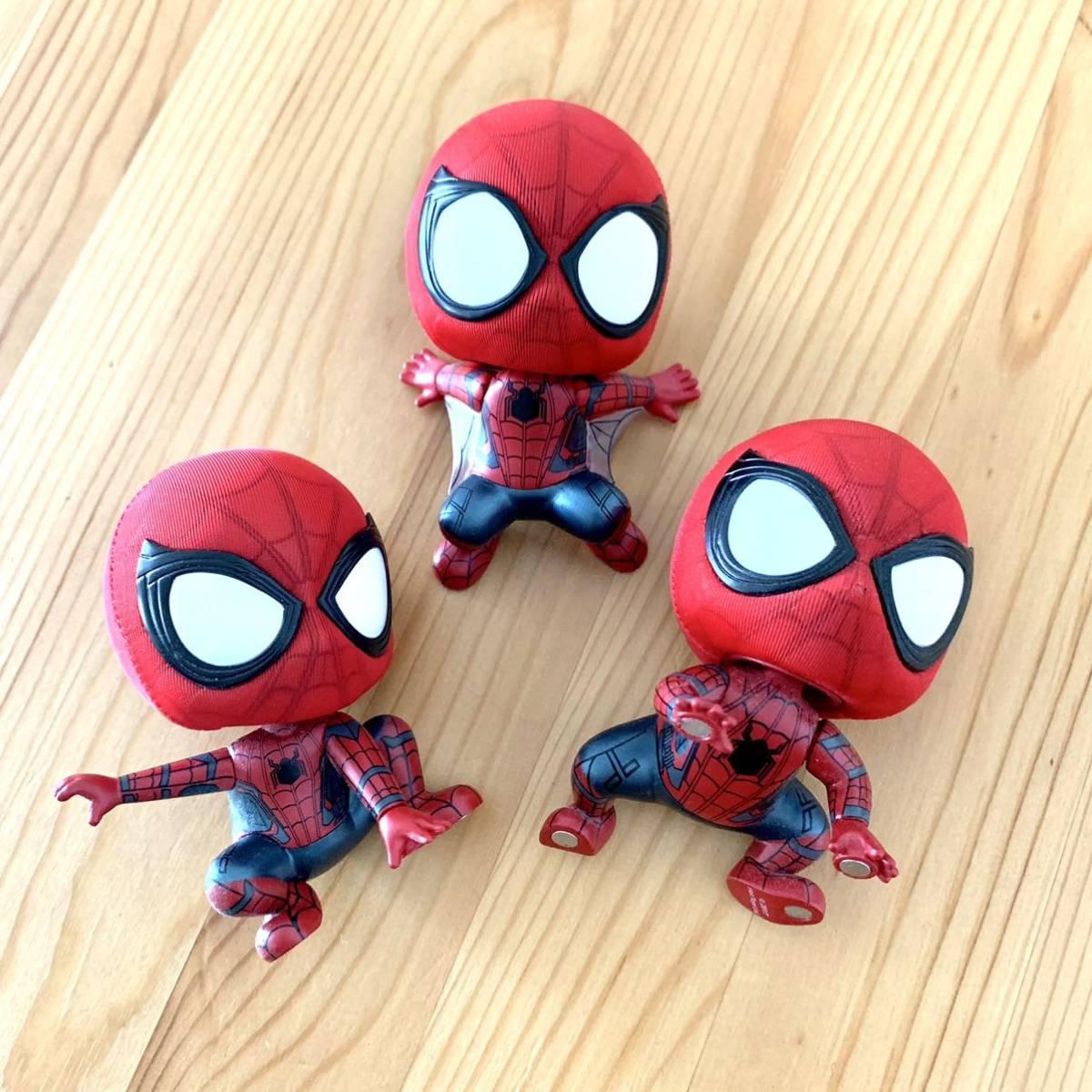 スパイダーマン ワンピース でんでん虫 ルパン三世 峰不二子 タコ フィギュア おもちゃ_画像2