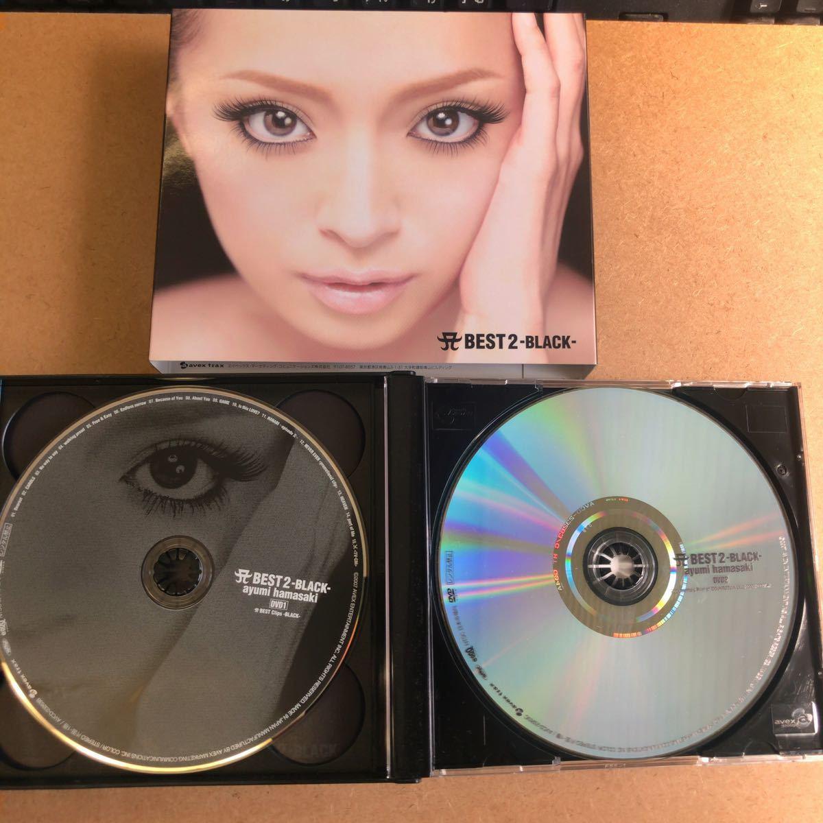 浜崎あゆみ『A BEST 2 -BLACK-』初回限定盤CD+2DVD155分収録☆美品☆ベストアルバム☆215_画像4