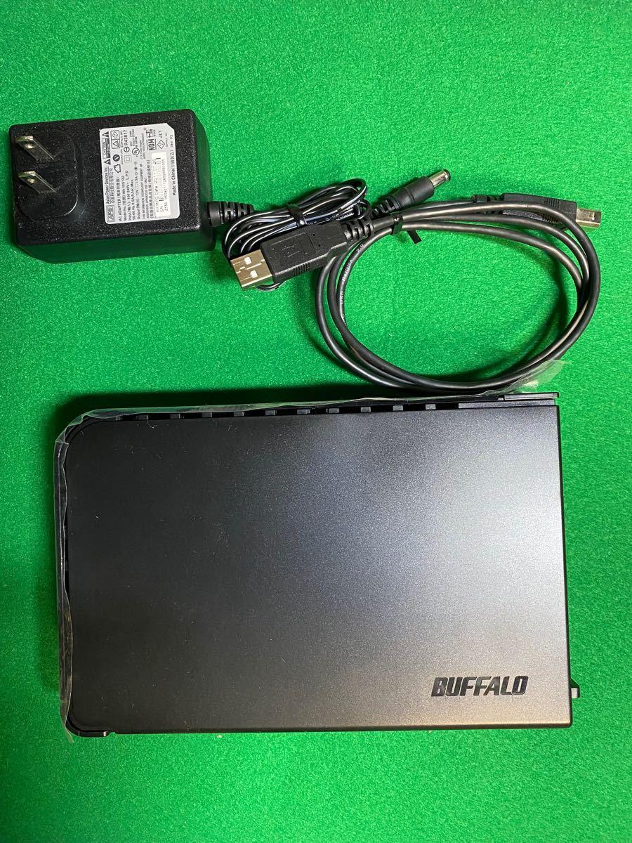 BUFFALO テレビ&パソコン対応外付けハードディスク 2.0TB