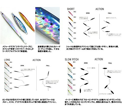 #15 ケイムライワシ 300g メジャークラフト ルアー メタルジグ ジグパラ バーチカル スローピッチ_画像1