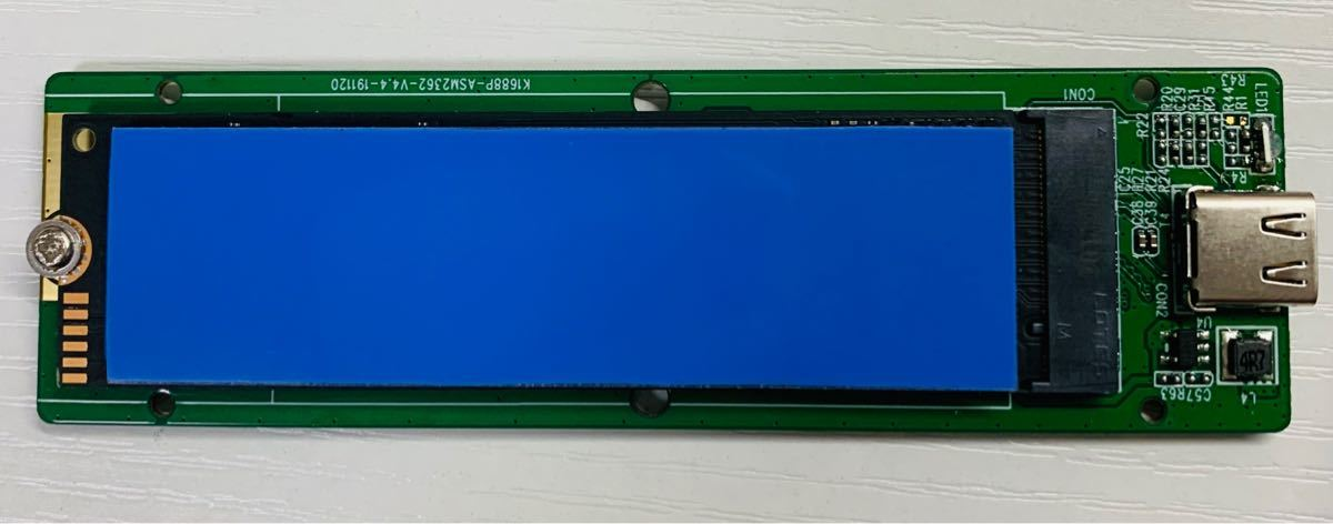 Crucial CT500P1SSD8 (500GB NVMe)+外付けケース
