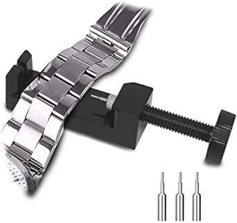 新品腕時計バンド調整 10点セット 腕時計ベルト調整交換修理ツール サイズ調整工具 耐久性7C6F_画像5