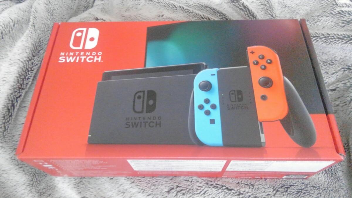 Nintendo Switch Switch本体 ネオンブルー ネオンレッド ニンテンドースイッチ 任天堂Switch 新品未使用