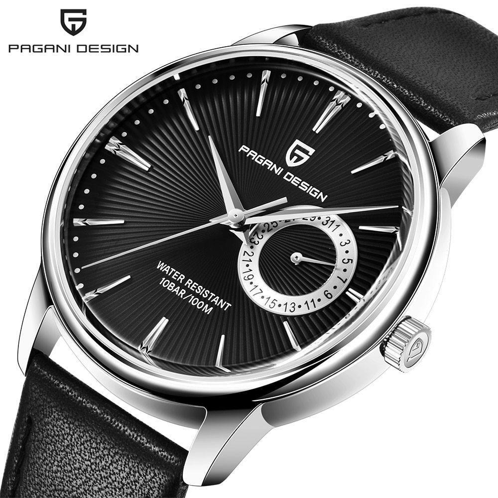 ファッションカジュアルスポーツ腕時計メンズミリタリー腕時計レロジオmasculino男性時計の高級防水クォーツ時計_①Silver black