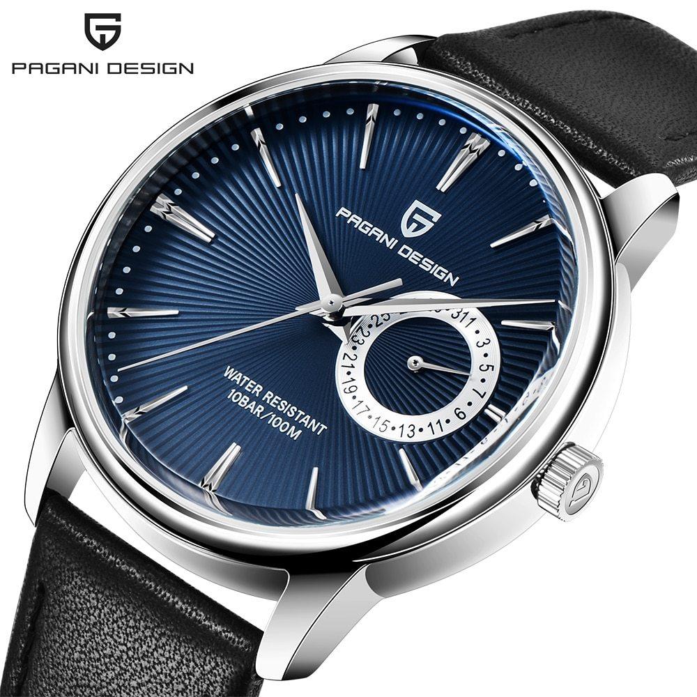 ファッションカジュアルスポーツ腕時計メンズミリタリー腕時計レロジオmasculino男性時計の高級防水クォーツ時計_④Silver blue