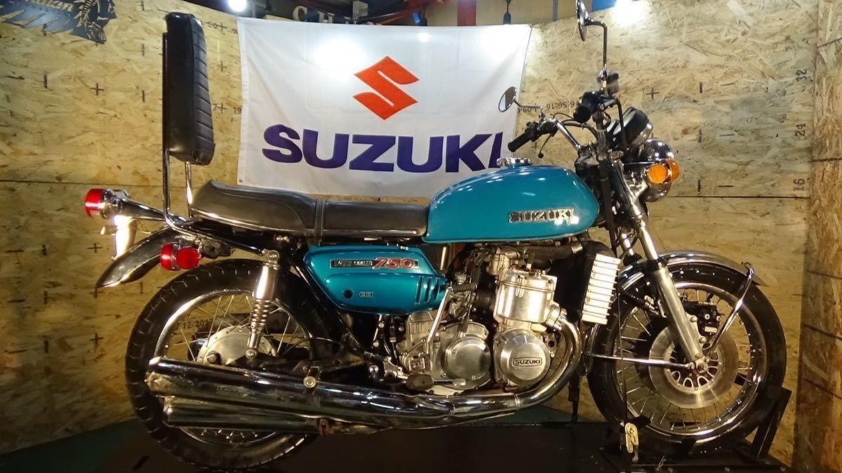 「【ローン可】SUZUKI GT750 昭和47年 1972年 旧車 GT550/GT380 希少 スズキ」の画像1