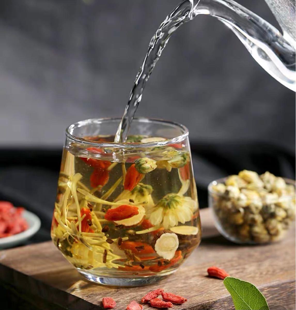 薬膳茶 菊花决明子茶 中国茶 健康茶 美容茶