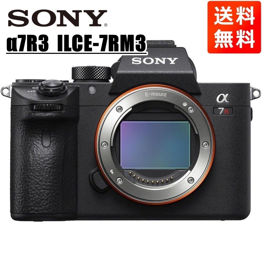 ソニー SONY α7R3 ILCE-7RM3 ボディ ミラーレス一眼 カメラ 中古_画像1
