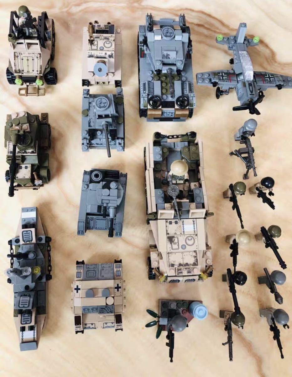 翌日発送 第二次世界大戦 武器つきセット 戦争軍人軍隊マンミニフィグ LEGO 互換 ブロック ミニフィギュア レゴ 互換 1061pcs_画像3