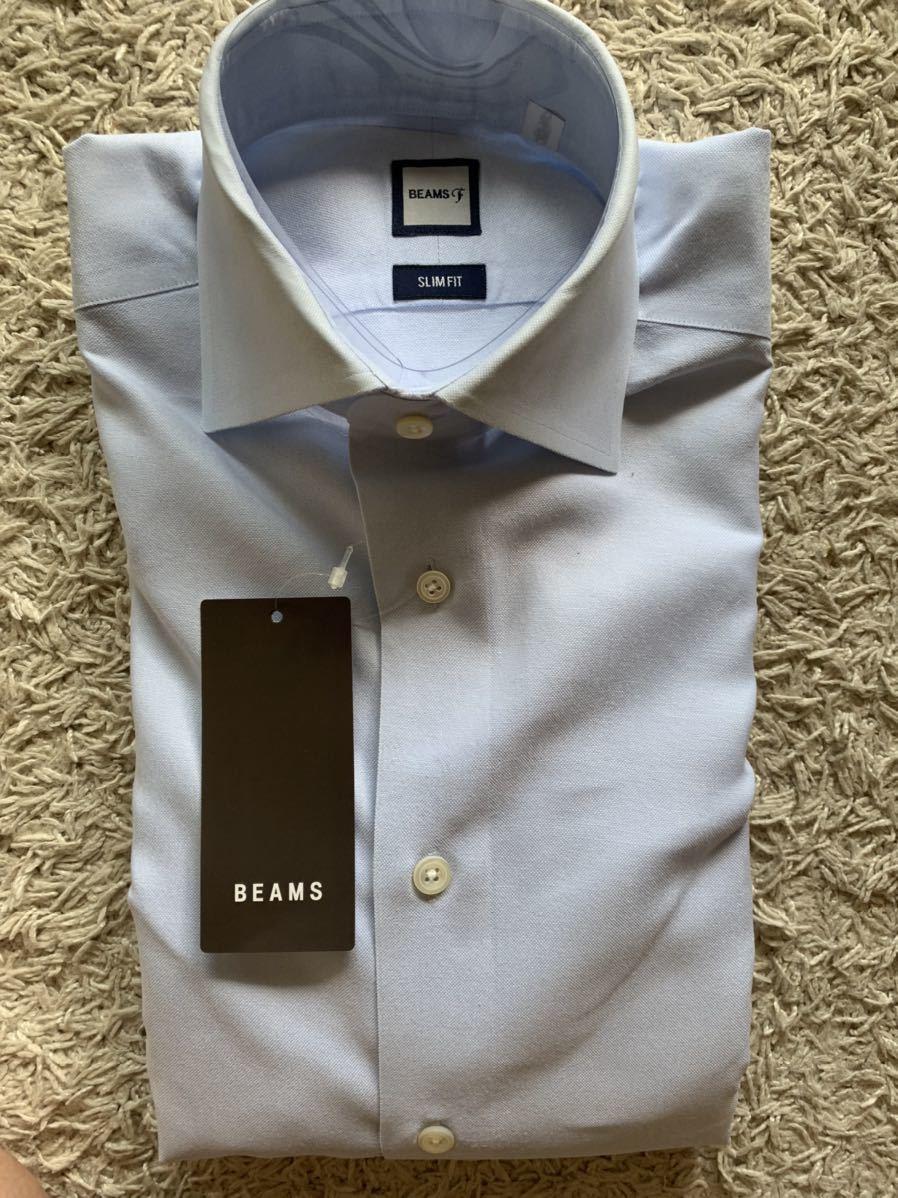 BEAMS F ドレスシャツ サイズ37 オックスフォード クールマックス