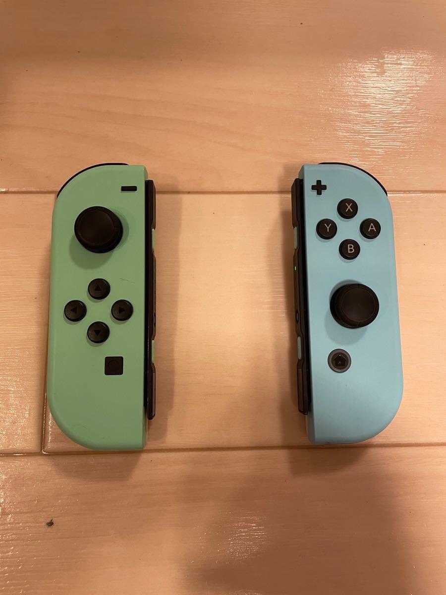Nintendo Switch ニンテンドー スイッチ あつまれどうぶつの森セット 中古 美品 欠品無し 動作確認済み 店舗印無し