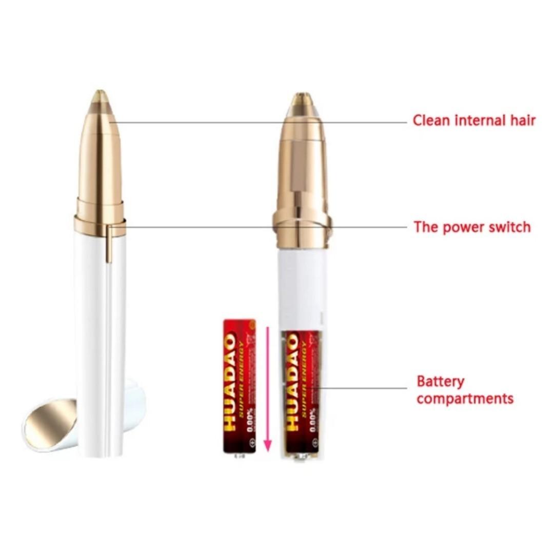 電動シェーバー LED付 トリマー カミソリ