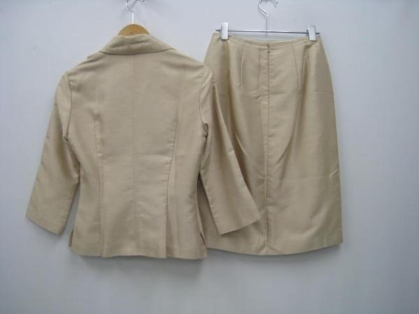 NOVESPAZIO ノーベスパジオ ジャケット スカート ベージュ 38_画像2
