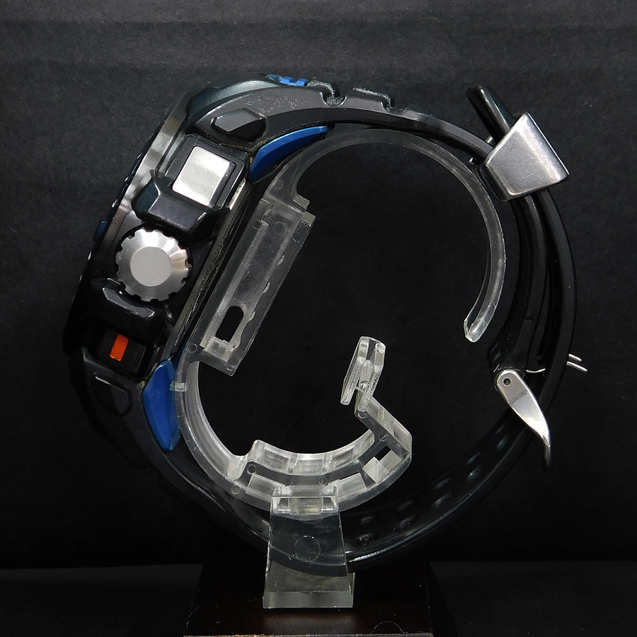 1円 ● 稼働品 美品 カシオ 時計 Gショック ガルフマスター 箱付き 電波ソーラー メンズ GWN-Q1000-1AJF CASIO ●_画像3