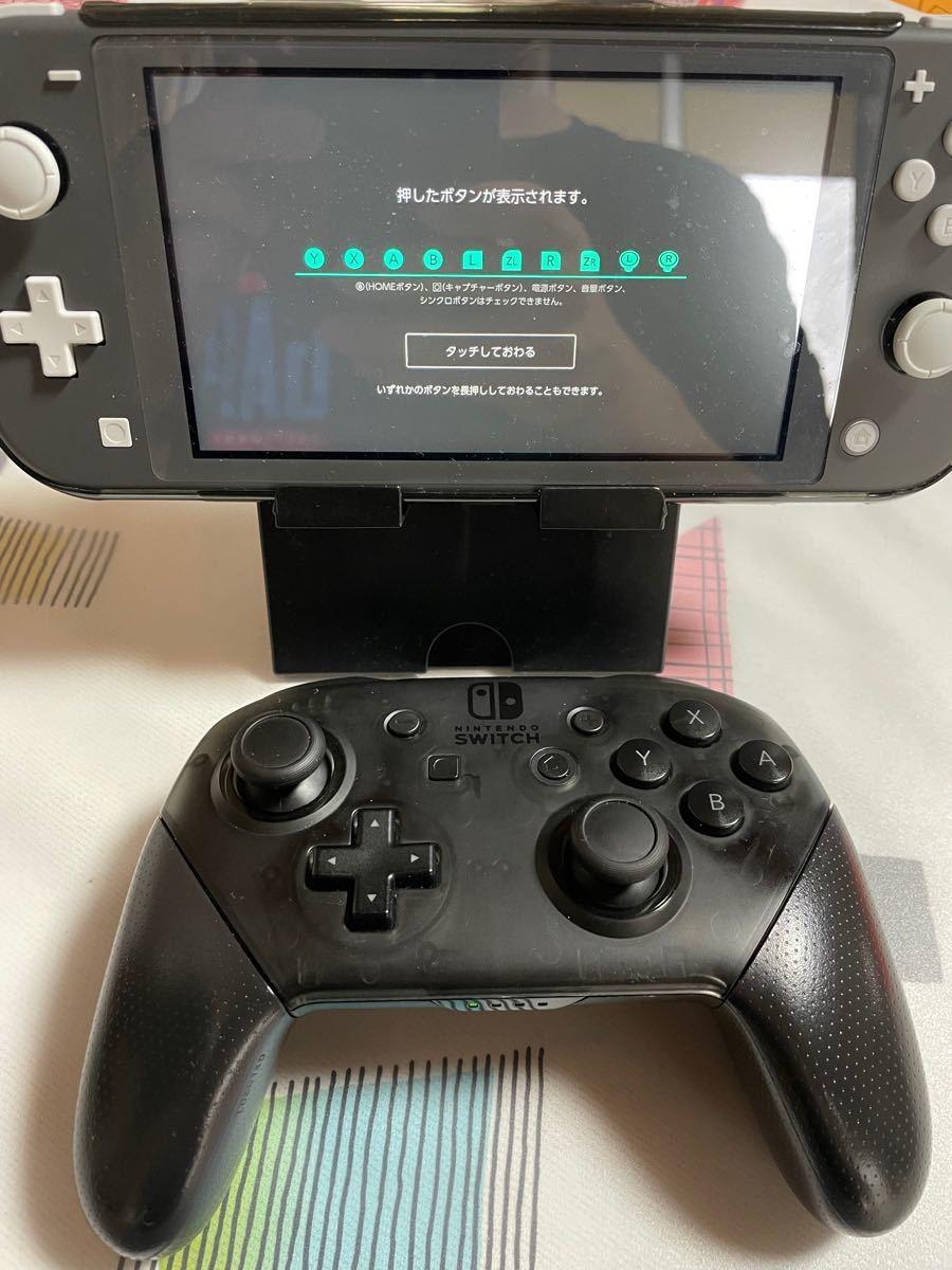 ☆任天堂 Nintendo Switch Proコントローラー プロコン スプラトゥーン2 純正 中古美品 動作確認済み