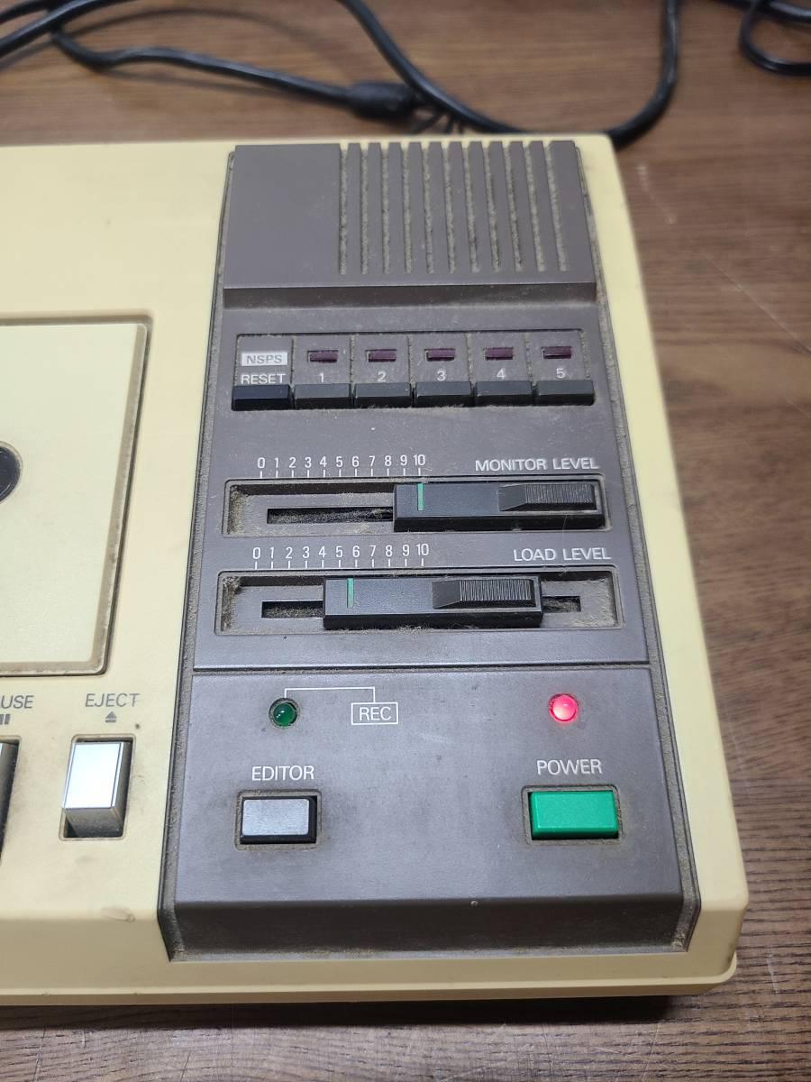 NEC データレコーダー PC-6082 ●1481Y● カセット  コンピューター ※通電OK・動作NG レトロ ジャンク品 _画像2