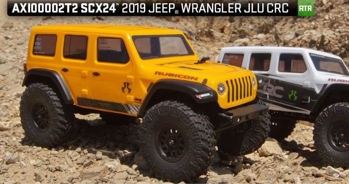 新品 アキシャル 1/24 SCX24 ジープ イエロー RTR axial jeep クローラー ミニッツ4×4 京商 タミヤ