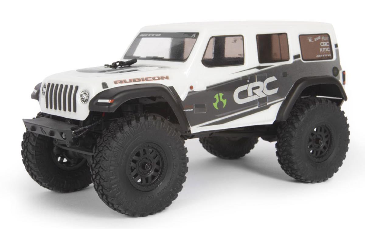 新品 アキシャル 1/24 SCX24 ジープ ホワイト RTR axial jeep クローラー ミニッツ4×4 京商 タミヤ