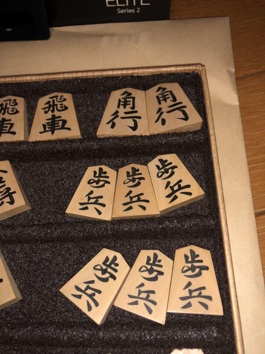 ◆将棋駒 錦旗 香月 彫埋駒◆_画像5