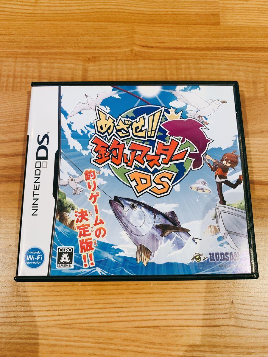 ニンテンドーDS めざせ!!釣りマスター DS 動作確認済み 中古