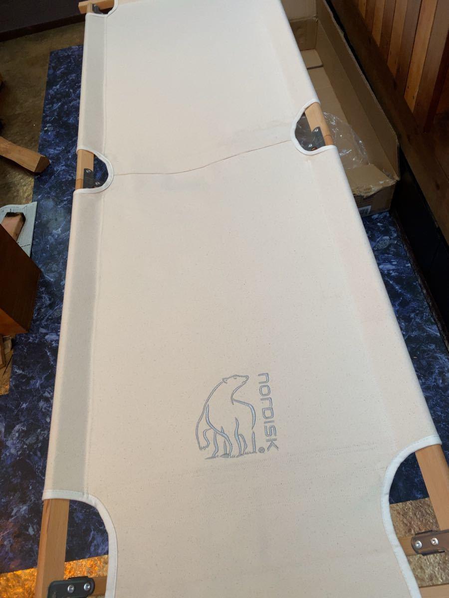 NORDISK Rold Wooden Bed  ノルディスク コット アウトドア ベッド