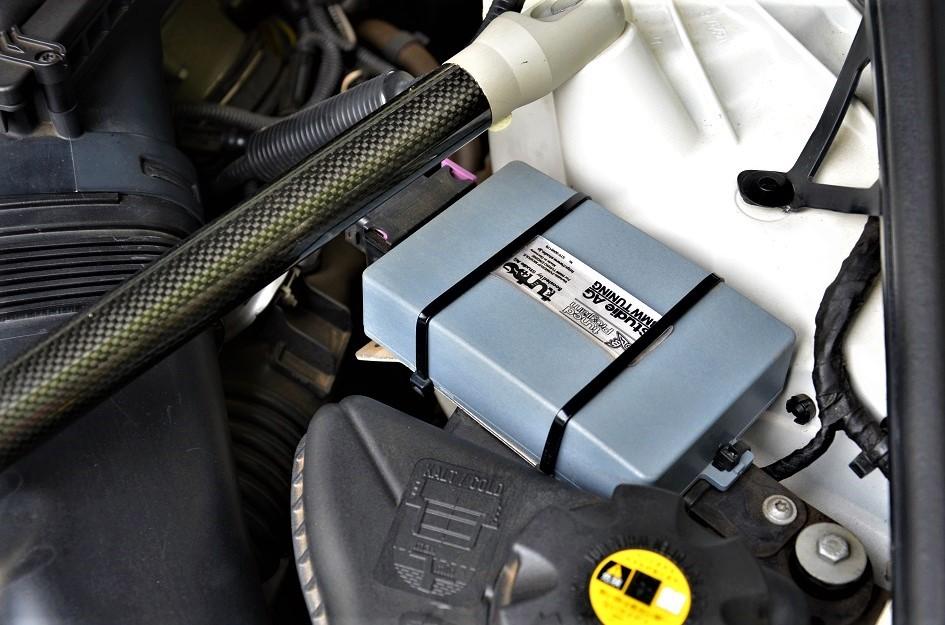 24年カスタム535i Mスポーツ ブレンボ6POD 車高調 スタビ サブコンピューター スロコン マフラー 鍛造21インチアルミ他 4,5点極上車_ブーストアップ+スポーツマフラー推定360PS