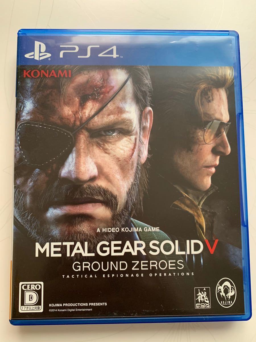 メタルギアソリッド5 GROUND ZERO PS4 METAL GEAR SOLID 美品