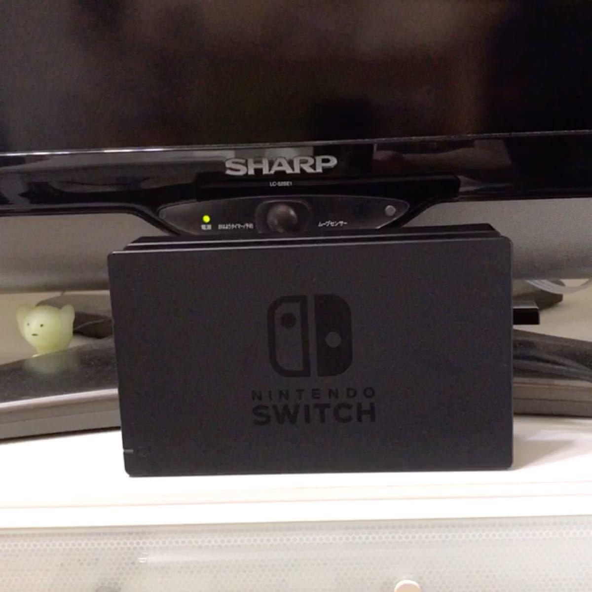 純正 ニンテンドースイッチ ドック&HDMIケーブル Nintendo Switch