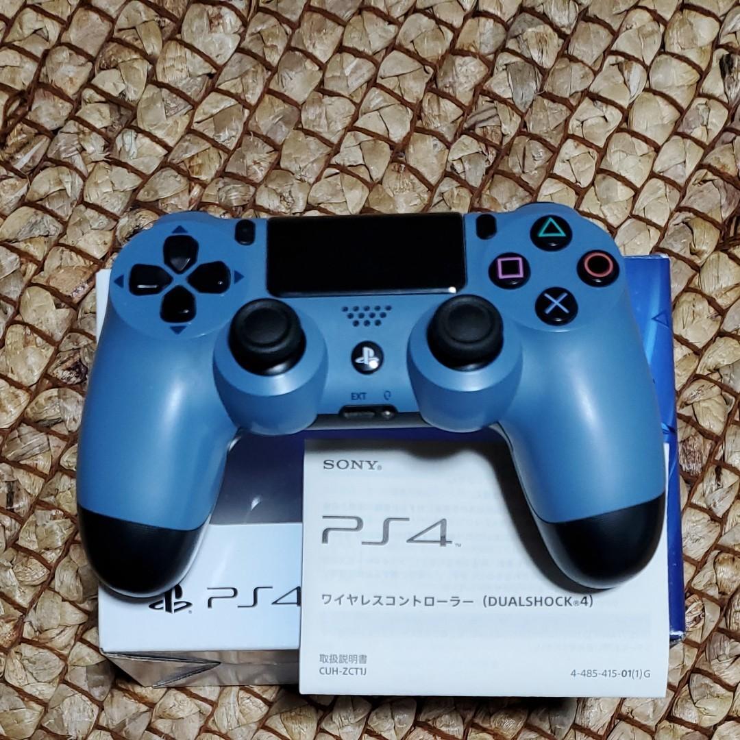 PS4 ワイヤレスコントローラー DUALSHOCK4 グレー・ブルー限定色