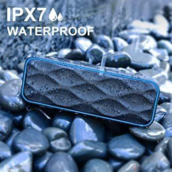 215*70*60 Bluetooth スピーカー ワイヤレススピーカー IPX7防水 高音質重低音 大音量 ブルートゥーススピ_画像3