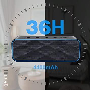 215*70*60 Bluetooth スピーカー ワイヤレススピーカー IPX7防水 高音質重低音 大音量 ブルートゥーススピ_画像4