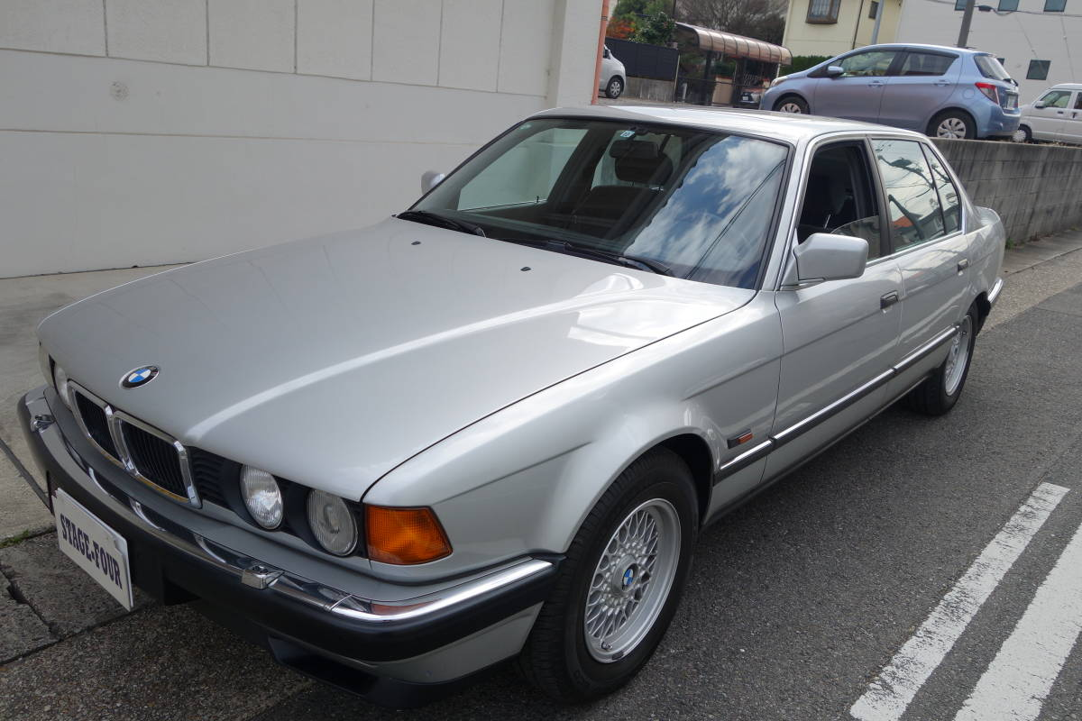 「H6/12 BMW 740iL★84200㎞ 車検R4/10★左ハンドル V8/4.0L サンルーフ」の画像1