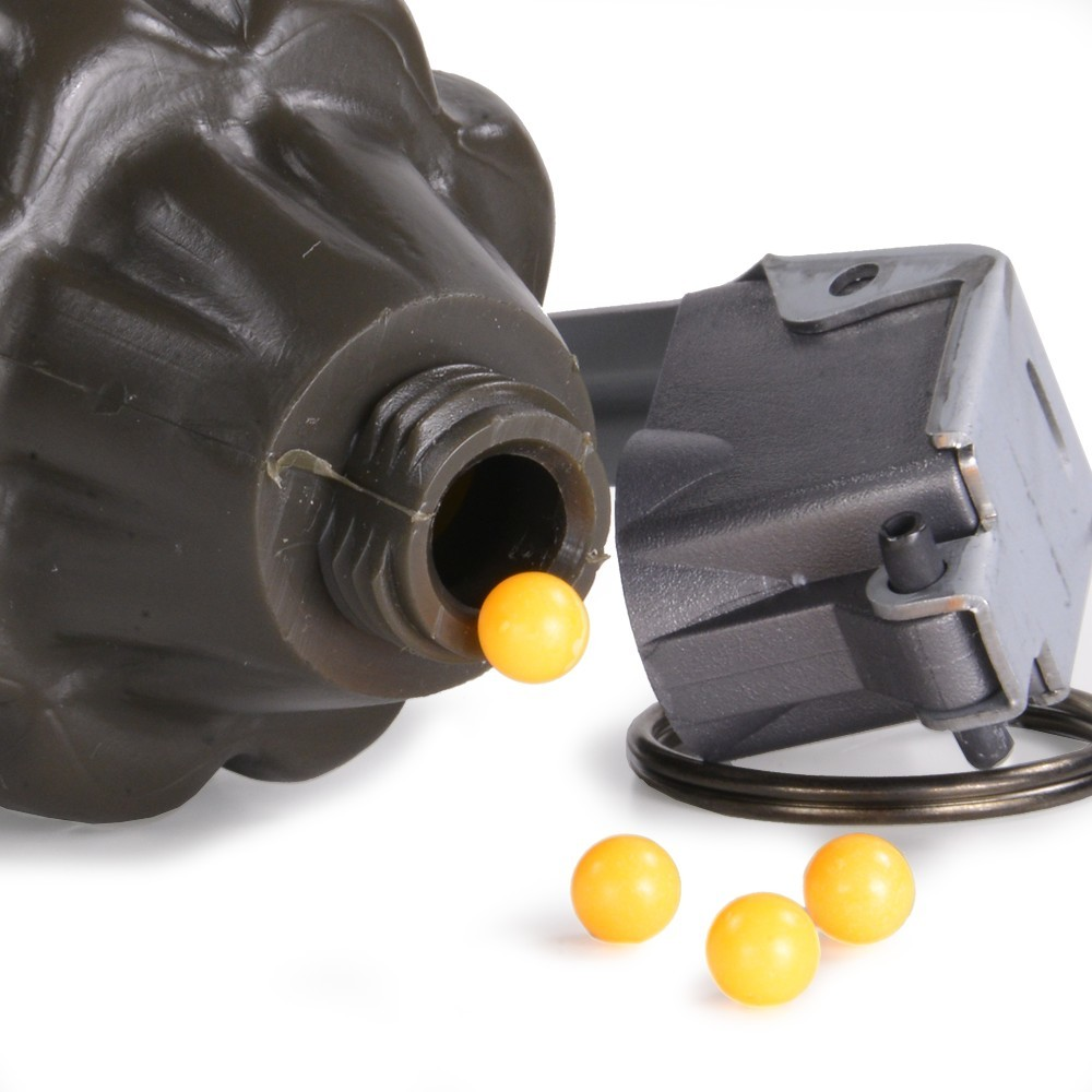 MK2手榴弾型 BBボトル パイナップル型 サンプロジェクト SUN PROJECT SP マーク2 グレネード 収納 保管 トイガン 電動ガン ガスガン_MK2手榴弾型 BBボトル パイナップル型 サン